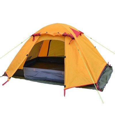 値するレンズ投票ダブルダブル屋外テント釣りアドベンチャー超軽量防雨仕様200 * 130 * 110CM