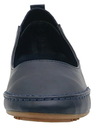 Pelle Donna Scarpe PU Ballerine Shoes Nero Blue Estate Primavera Elegante AgeeMi gBz4qw