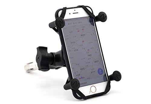 GPS Navigation Frame Mobile Phone Navigation Bracket 16-19MM For Suzuki GSX-R600/750 06-17 GSX-R1000 03-04 09-16 GSX-R1300 Hayabusa 99-07 Yamaha YZF-R1 02-03 Kawasaki BMW