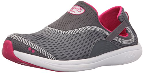 Sandal Ryka Women's Grey Grey Swift Ryka Pink Steel Iron EERqfw