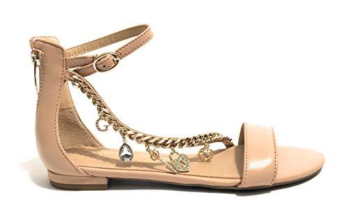 Sandalo Mod Natural Donna Guess Colore Ds19gu32 Caviglia Radhika Allacciato Alla Rosa Bpz88dwqIx