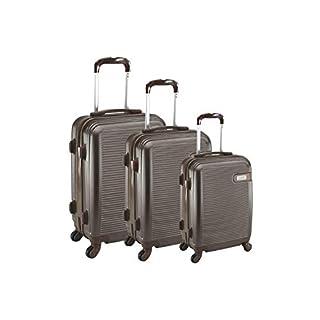 Compagnie du Bagage Luggage Set, Brown (Chocolate), 48 Centimeters