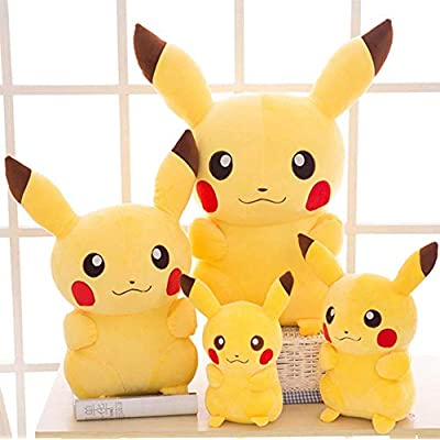 LCCYJ Pikachu Stuffed Toy Animal Home Decor Gift Birthday Present Soft Plush Pillow 20Cm-85Cm,35cm: Kitchen & Dining