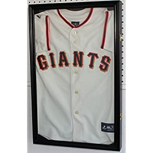 """25"""" H X 16"""" SMALL Boy's Size Sport Jersey Display Case Shadow Box Cabinet"""