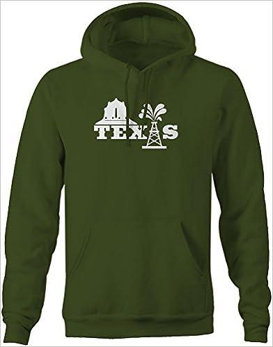 Lifestyle Graphix Texas Not Texas Oilfield Austin Dallas Oil Longhorn UT Sweatshirt Medium