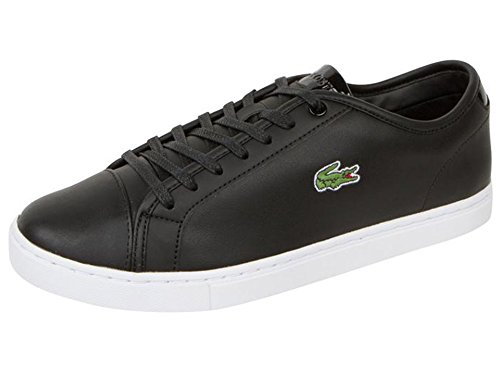 Lacoste Showcourt Hombres Fashion Sneaker Black On Black