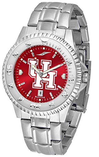 - Houston Cougars Competitor Steel AnoChrome Men's Watch