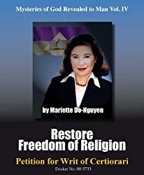RESTORE FREEDOM OF RELIGION (Mysteries of God Revealed to Man Book 4)
