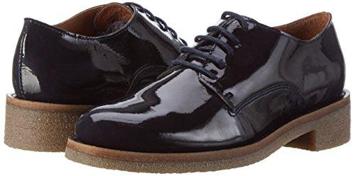 Patent Shoe Basse Donna Scarpe Oltremare Bianco Jfm17 Blu Cas E5WTqT