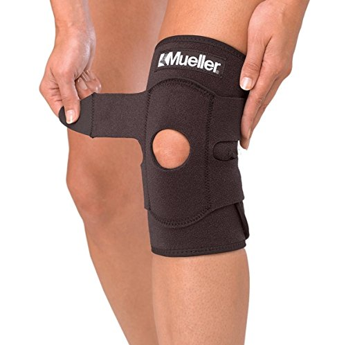 amazon com mueller adjustable knee support one size fits most 1 count package health personal care