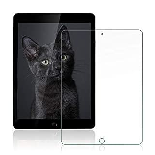 [2 Pack] iPad pro 10.5 inch 2017 Release Tempered Glass Screen Protector,Ultra Clear Scratch-Resistant [9H Hardness] + Life Time Replacement Warranty Service