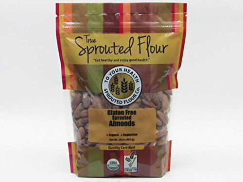 1 lb. Organic Sprouted Almonds