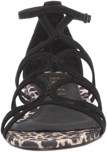 Ravel Judge - Sandalias de vestir de cuero para mujer Negro (Schwarz (Black))