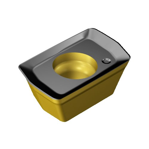 Sandvik Coromant 390R-070208M-KM 3330 Coro Mill 390 Insert for Milling 3330 Grade Right Hand Cut Inveio Coating Technology +Al2O3+TiN Carbide Pack of 10 Ti Wiper C,N