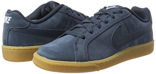 Daim Gymnastique Nike armory Brown Navy Chaussures De Navy lt Blue Bleu Armory Wmns Lt gum Court Royale qS68YtS