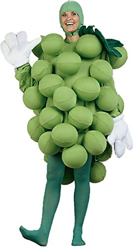 Green Grapes Adult, Standard One-Size, Green