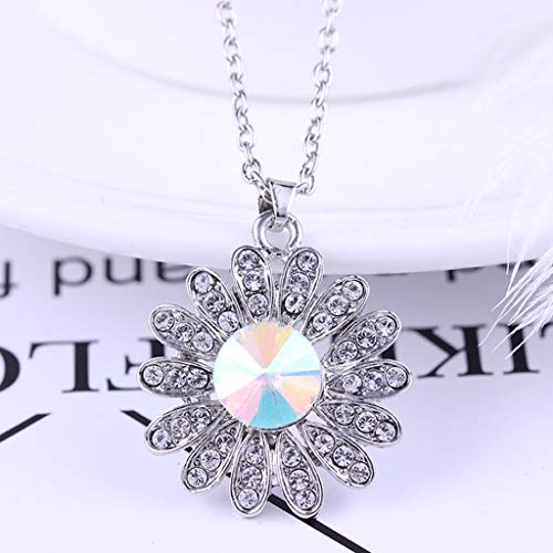 Toponly Women Love Heart Pendant Necklace Earrings Set, Sterling Silver Jewelry Set Gift Her by Toponly (Image #2)