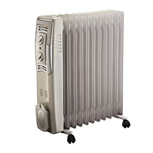 Amazon Com Bionaire Bioh2503 Oil Filled Heater Radiator