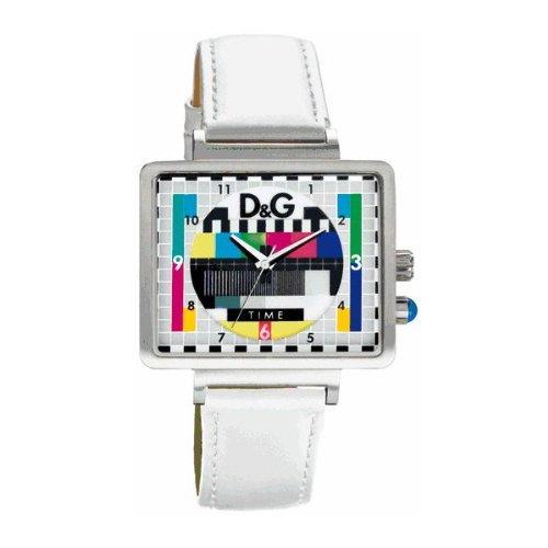 D&G Medicine Man Unisex Colourfultelevision Test Card Design Wristwatch - Watches D&g Mens