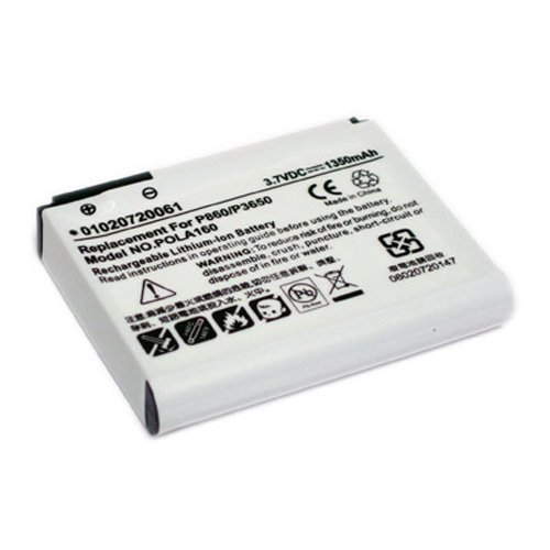 Dopod Pda - Maximal Power PDA Dopod P860 Replacement Battery for HTC PDA Battery Dopod P860 (White)