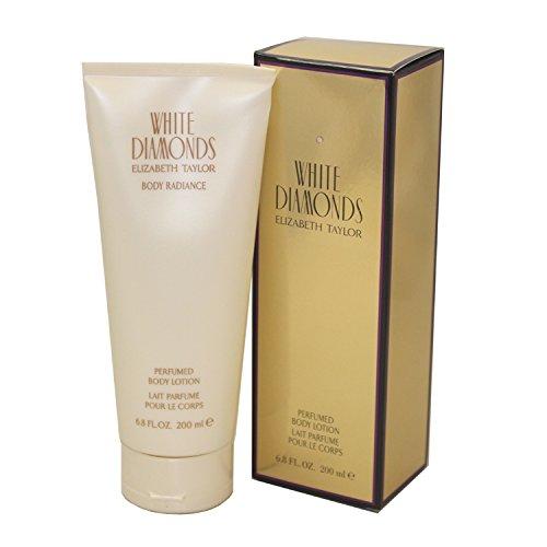 White Diamonds Body Cream - Elizabeth Taylor White Diamonds Body Lotion for Women, 6.8 Ounce