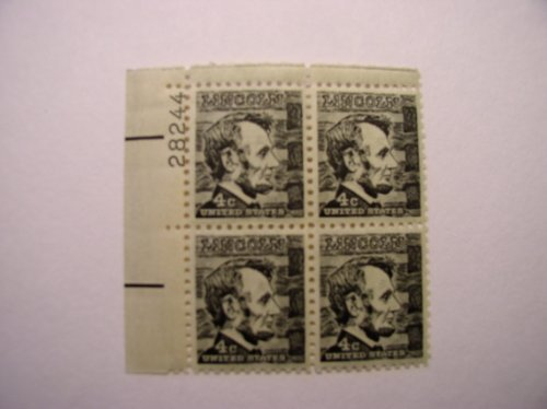 US Postage Stamps, 1965, Abraham Lincoln, S#