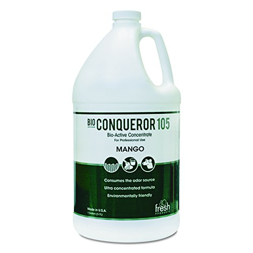 Fresh Products 1-BWB-MG 1 Gallon Bio Conqueror 105 Enzymatic Odor with Mango Fragrance (Case of 4)