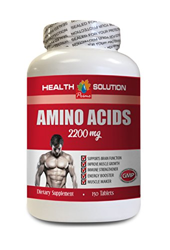 Muscle Building Fat Burner   Amino Acids 2200 Mg   Muscle Maker   Amino Acids Supplements For Women   1 Bottle 150 Tablets