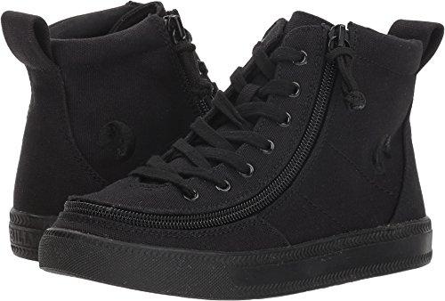 BILLY Footwear Kids Unisex Classic Lace High (Toddler/Little Kid/Big Kid) Black 3 M US Little - Unisex Sneakers Footwear