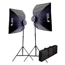 2000 Watt Photography Photo Digital Video Studio Continuous Lighting Light Kit