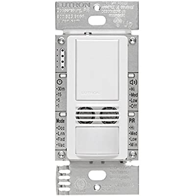 Lutron Maestro Dual Tech Occupancy Sensor Switch