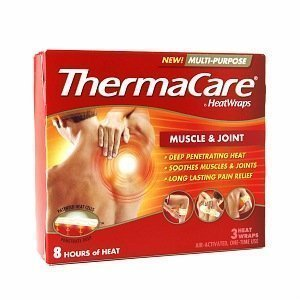 ThermaCare HeatWraps Muscle & Joint, 3 each in box.
