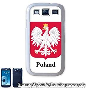 Poland Polish Coat of Arms Flag Samsung Galaxy S3 i9300 Case Cover Skin White