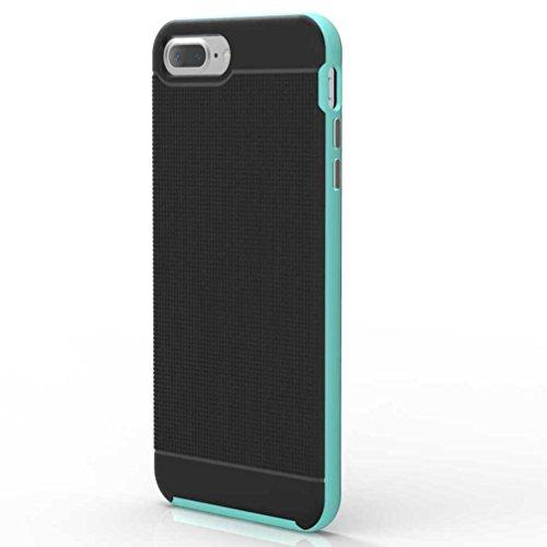 """5.5"""" iPhone 7 Plus Coque, AOFad Case Antidérapant Protection des lourds Mince vert Plastique Hornet Accessoires Série Pour Femme Homme L190"""