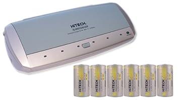 Amazon.com: Cargador de batería universal y 6 C Tamaño 5000 ...