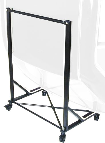 URO Parts TC-107BLACK Black Hard Top Cart/Carrier with Cover