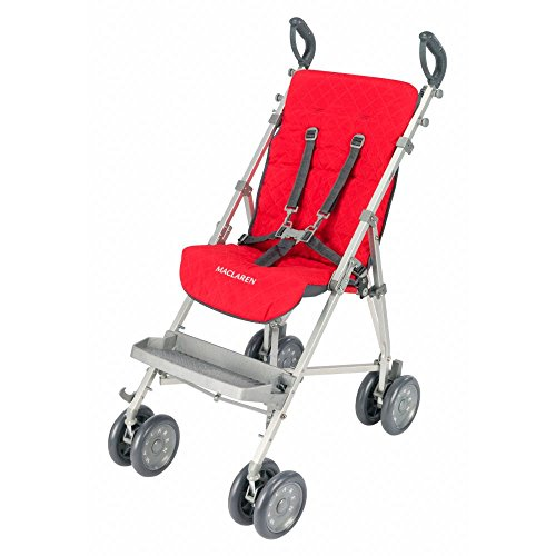 Maclaren Major Elite Seat Liner, Cardinal/Charcoal (Special Stroller Needs)