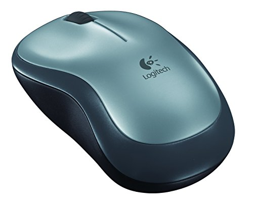 Logitech Wireless Mouse M185, Silver (E-Commerce Packaging) (Logitech Bluetooth Mouse M325)