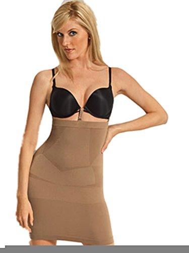 adde42dcf6e5 Julie France JF018 High Waist Slip Shaper (Nude, Medium)
