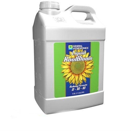 NEW General Hydroponics 2.5 Gallon Liquid KoolBloom Flower Formula Fertilizer