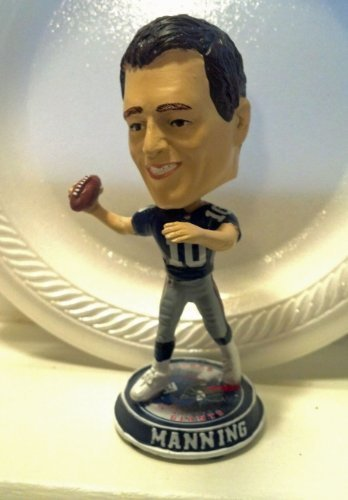 2010 Eli Manning Mini Big 4 inch Head Bobblehead only 360 were made New York Giants