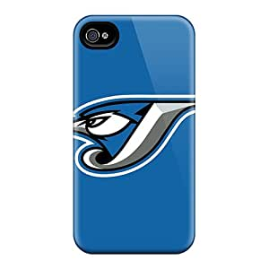 New Cute Funny Baseball Toronto Blue Jays Cases Covers/ Iphone 4/4s Cases Covers