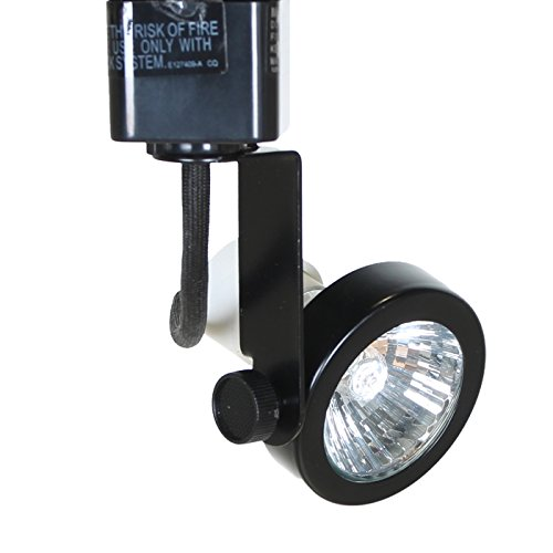 (Direct-lighting 50067 Black GU10 Base Line Voltage Track Lighting Head)