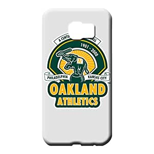samsung galaxy s6 edge Eco Package Perfect New Arrival mobile phone carrying covers oakland athletics mlb baseball