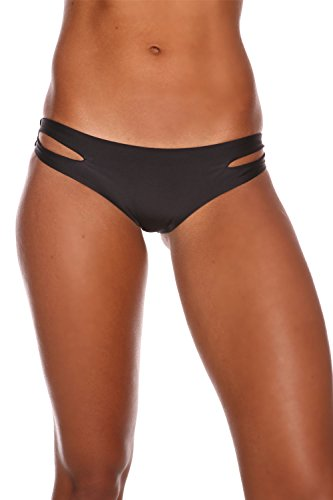 Sheridyn Swim Women's Lagoon Bikini Bottom Black Medium