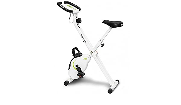 duvlan X Bike Bicicleta Estática Plegable espacio de casa: Amazon ...