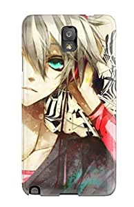 Awesome Case Cover/galaxy Note 3 Defender Case Cover(splattered Tunes Animes)