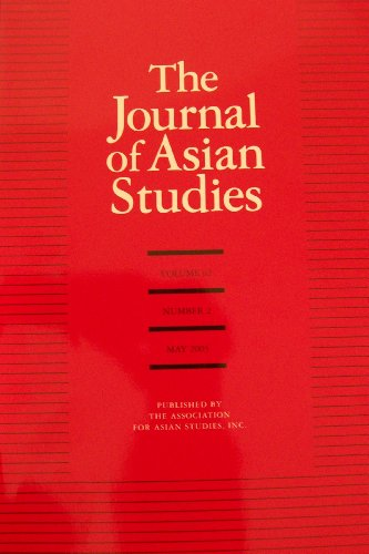 The Journal of Asian Studies JAS