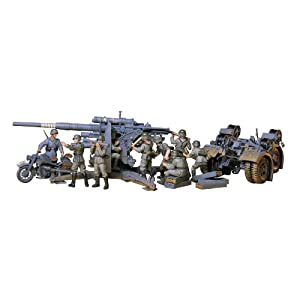 Tamiya Models German 88mm Gun Flak 36.37 Model Kit 2