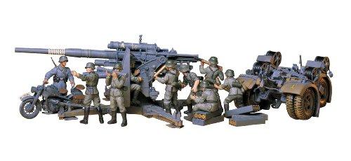 88mm Gun Flak - Tamiya Models German 88mm Gun Flak 36.37 Model Kit